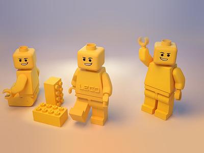 Lego man 3D man lego 3d design