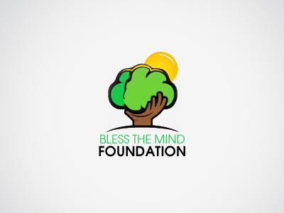 Bless The Mind Foundation Logo design branding identity logo