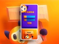 Panda - Game UI for mobile
