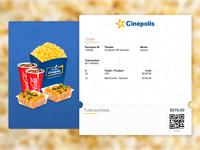 Cinema Email Receipt