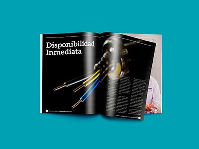 Conexion Magazine magazine design industrial editorial