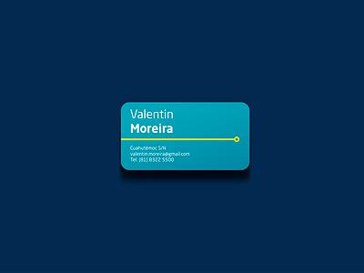 Business Card card branding