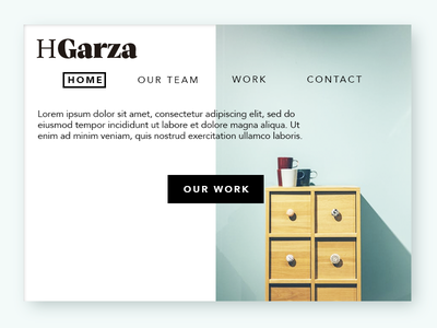 Home experiment furniture minimal website home