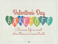 Valentine's Day Bake-Off Email Header