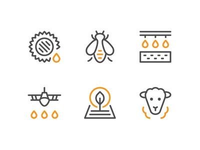 Farm And Agricultural Icons