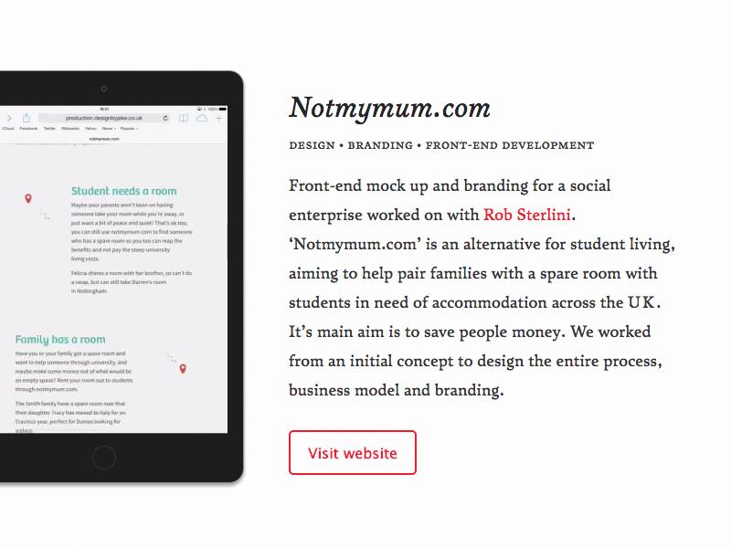 Portfolio website responsive portfolio video