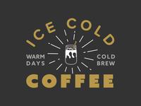 Warm days, cold brew