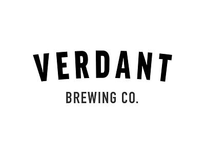 Verdant Brewing Co. brewery beer logo