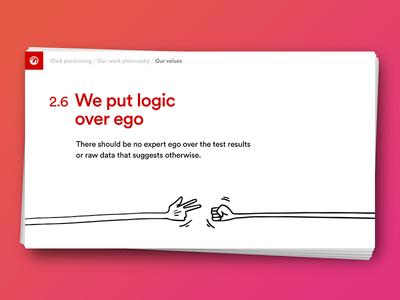 IDeA: Logic and ego