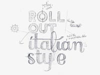 Roll out Italian style!