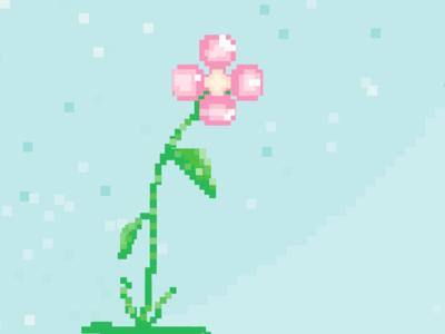 Pixel Flower