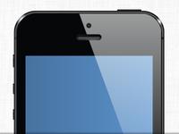 Free iPhone 5 vector