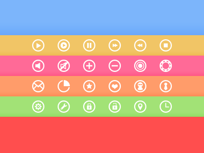 Circle Icons circle icon icons ui free circle icons
