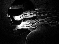 Drawlloween 2015: Mask