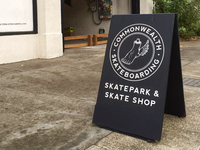 Commonwealth Sandwich Board Sign WIP