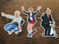 Gnarly Election 2016 Sticker Set