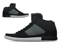 Bulletproof Skate Mid - Black Grey