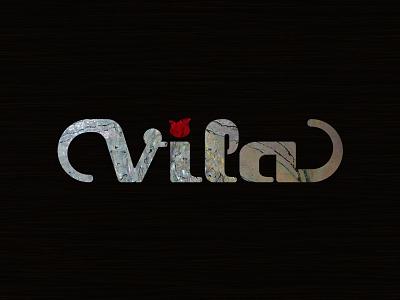 Vila Guitars Logo (v2 inlay) logo guitar custom electric luthier solidbody inlay insert
