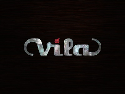 Vila Guitars Logo - Final? logo guitar custom electric luthier solidbody inlay headstock mother of pearl nacre