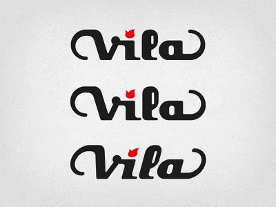 Vila Guitars Logo (more iterations) logo guitar custom electric luthier solidbody inlay headstock iteration