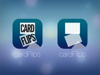 cardFlips Icon (iOS 7 app)