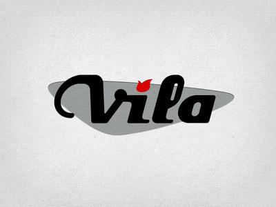 Vila Guitars Logo - Googie
