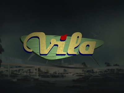 Vila Guitars Logo - Googie (color) logo vector guitar final custom electric luthier solidbody inlay headstock googie