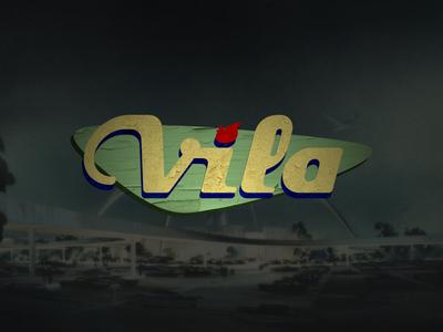 Vila Guitars Logo - Googie (color)