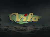 Vila Guitars Logo - Googie (color)