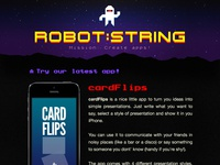 Robot:String Site