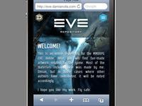 Eve Online responsive Repository