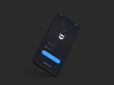 Login Concepts | Grizzly Mobile App Ui KIt george samuel glassmorphism animation iphone mockup motion ui kit ux design xd ui kit adroid ui kit ios ui kit article design free ui kit animated mockup dark mode call to actions signin call to action register