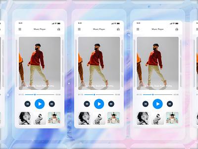 App menu Design   Grizzly Mobile App Ui Kit profile side navigation  bar side menu drawer app menu retro glassmorphism animation iphone mockup motion ui kit ux design xd ui kit adroid ui kit ios ui kit free ui kit animated mockup dark mode