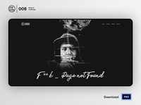 404 | Daily UI challenge - Day 008/100