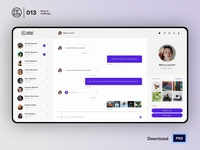 Direct messaging| Daily UI challenge - Day 013/100