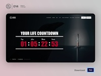Countdown Timer | Daily UI challenge - Day 014/100