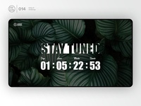 Countdown-timer | Daily UI challenge - Day 014/100