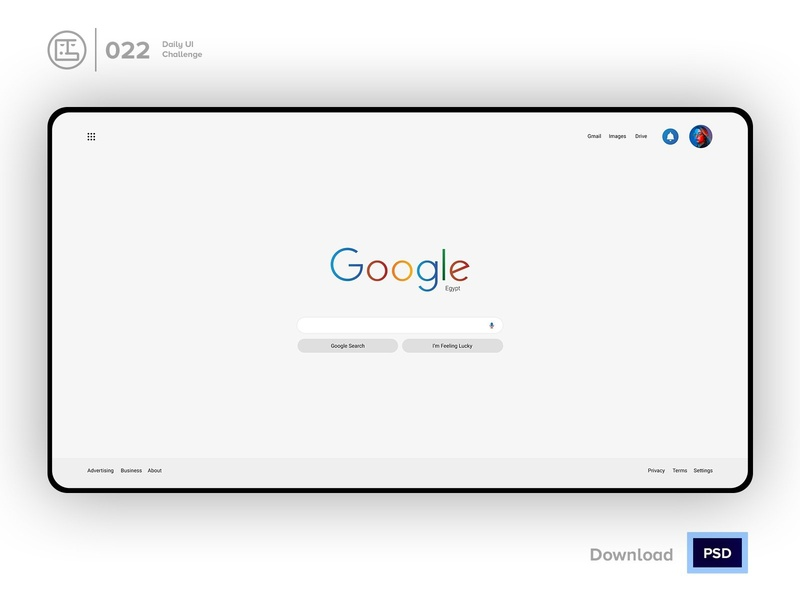 Google Slim Redesign Search | Daily UI challenge - Day 022/100 ux user interface user experience daily ui george samuel freebies free psd interaction design interaction ecommerce dark ui landing page free ui kit hero section animation daily ui 022 input google search search google redesign