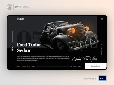 Curated For You | Daily UI challenge - 091/100