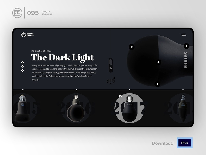 Product Tour | Daily UI challenge - 095/100
