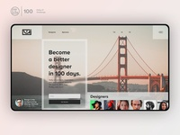 Redesign Daily Ui Landing Page   Daily UI challenge - 00/100