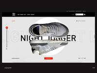 Addidas nite jogger Landing Page part2