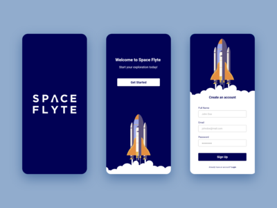 Sign Up | Daily UI #001