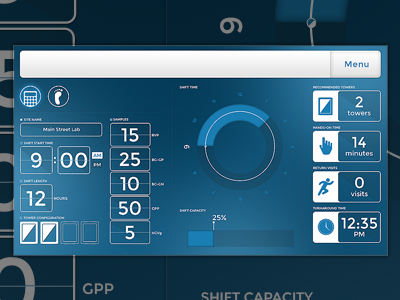 Workflow Calculator chart calculator graph app ui interface