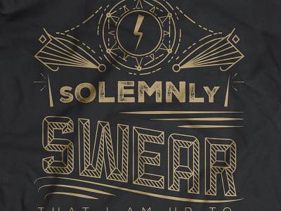 ASGS Reunion 2016 - Shirt Design runes quotes lightning bolt mischief managed marauders harry potter reunion apparel shirt