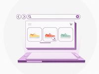E-commerce - Animation