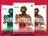Urban Flyer Free Templates
