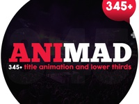 AniMad | 345+ Titles and Lower Thirds