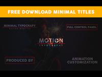 Free Minimal Titles