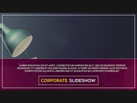 Corporate Slideshow - Free After Effect Project File